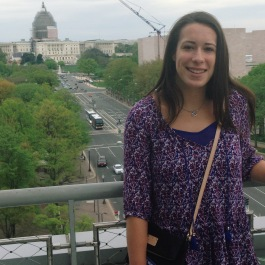All smiles – even though the Capital building was under construction.
