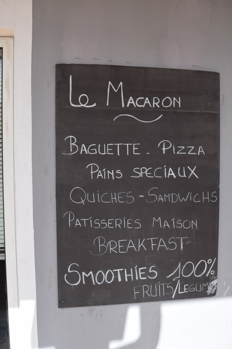 Full disclosure: Even though St. Martin is French, the macaroons were not very good.